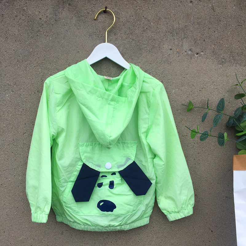Childrens sunscreen clothes short Korean version loose fairy air permeability thin coat double layer sunscreen clothes