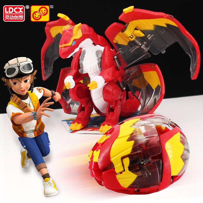 爆兽猎人2玩具变形蛋灵动保狩暴瘦正版爆裂暴兽龙蛋儿童天炎战龙