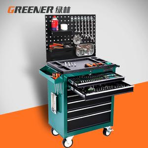绿林5抽屉五金工具箱间汽修工具车