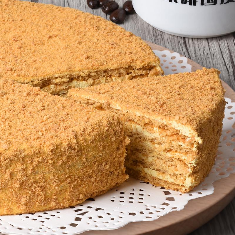 ^~順豐包郵^~俄式提拉米蘇新鮮生日千層蛋糕巧克力師傅純 8寸
