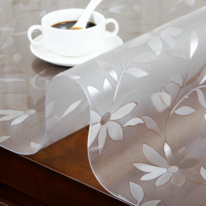 16.50元包邮无味磨砂茶几餐桌垫防水长方形桌布
