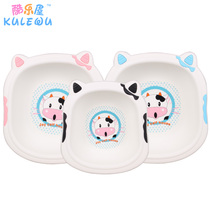 3 Baby washbasin plastic household baby cow small pot childrens newborn supplies wash pp Butt