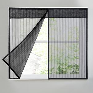 魔术贴防蚊纱窗网自装自粘式隐形磁性网纱窗户磁铁窗纱门帘家用