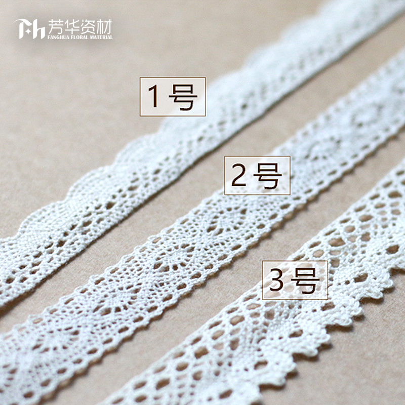 Fanghua material, fresh flower material, high quality cotton bud, silk ribbon, wedding party, flower shop, mothers day decoration material