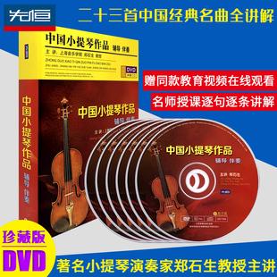中国小提琴作品视频教程 郑石生辅导 自学入门初学者儿童考级网课