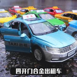 出租车玩具大号的士玩具车玩具六开门儿童合金小汽车玩具模型男孩