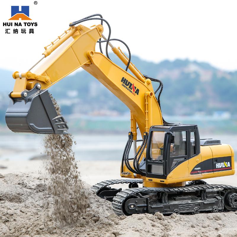汇纳遥控玩具车大型履带式挖挖机好用吗