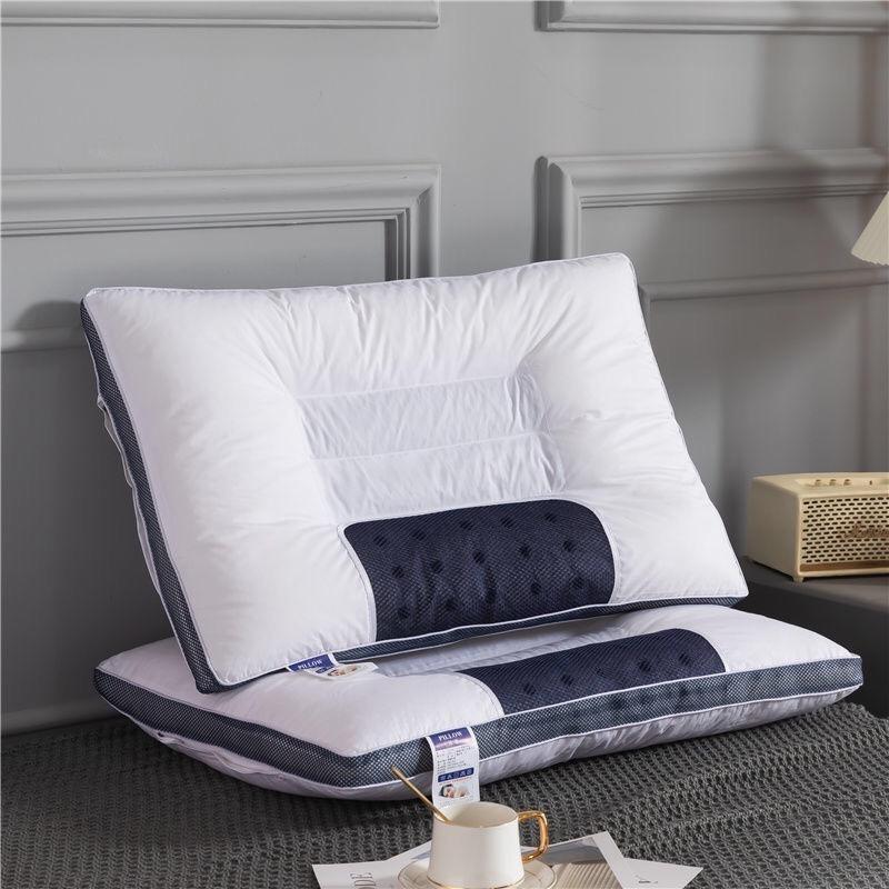 【恩佳N7.27 】40cmx60cm双边立体保健枕【2只装】