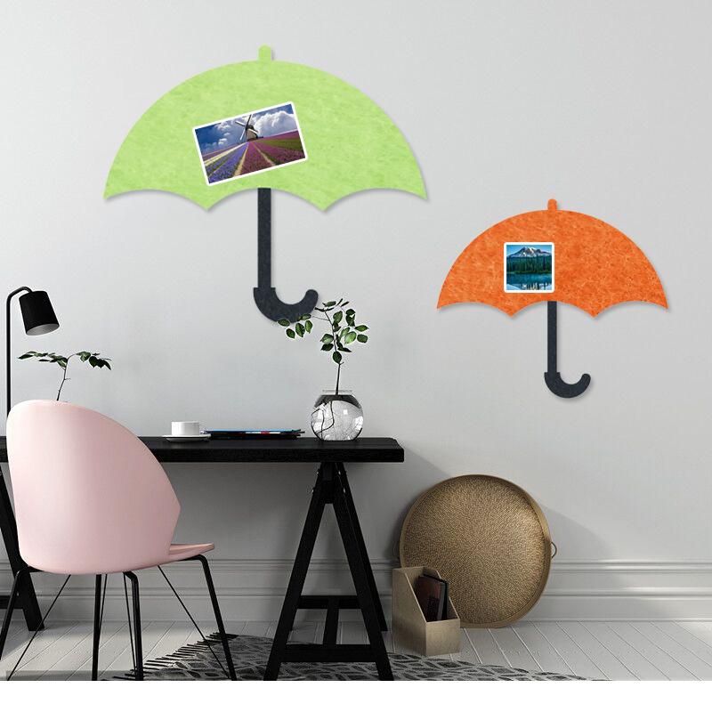 墙纸新款萌羊自贴柜门贴玄关墙壁装饰品创意雨伞留言贴清新可爱