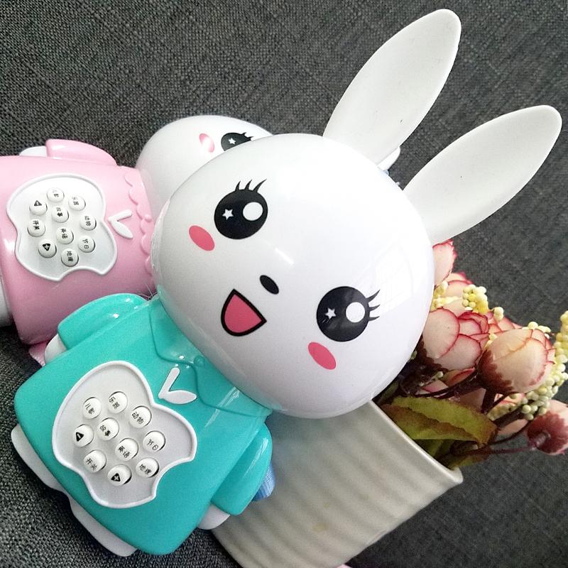 小兔子歌曲故事机早教婴儿童音乐小兔子学习机玩具0-3-6岁