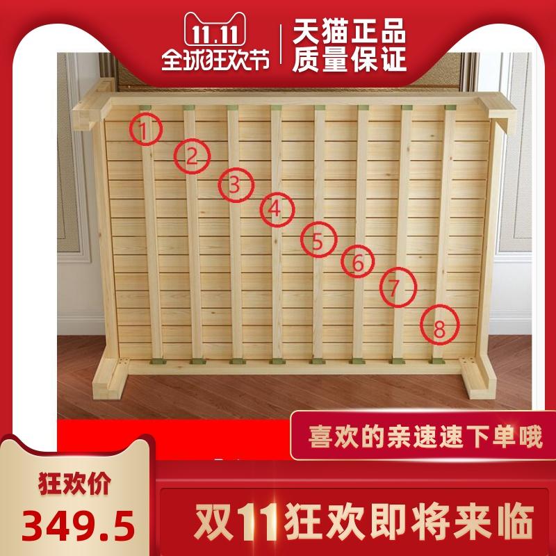 单人床简约1.2m出租房家具1.8双人床小户型家用1.5米实木床架