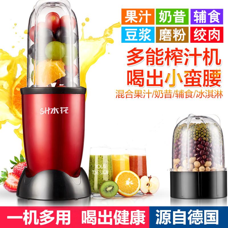 家用多功能绞肉磨粉机砸咋扎打小型果蔬水果汁计机小家电厨房电器