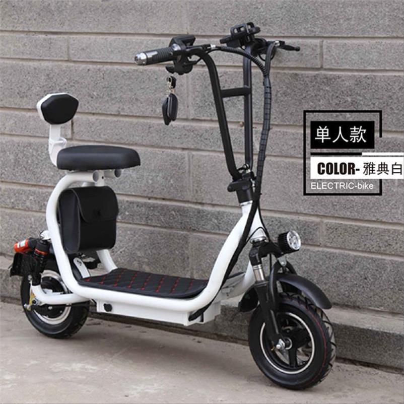 小哈雷亲子电动滑板车成人迷你折叠电动车自行车小型电瓶车代步车热销0件正品保证