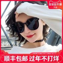 显瘦韩版潮网红款街拍蹦迪防紫外线墨镜女ins2019新款gm太阳眼镜