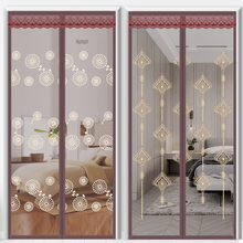 High grade anti mosquito door curtain magnetic Velcro partition curtain anti fly and anti mosquito ventilation screen window for home use in summer