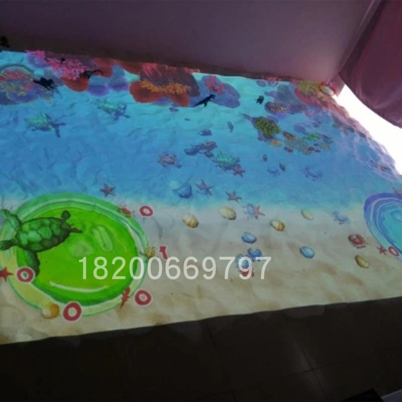 Amusement equipment Beach Interactive ground Beach Interactive Game children fishing naughty castle paradise ar sand pool interaction