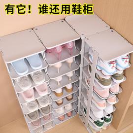 鞋架简易门口浴室置物架鞋柜隔板鞋托宿舍多层省空间鞋子收纳神器图片