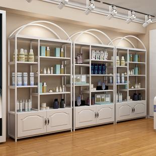 化妆品展示柜陈列柜子隔断组合美容院母婴产品货柜超市货架展示架