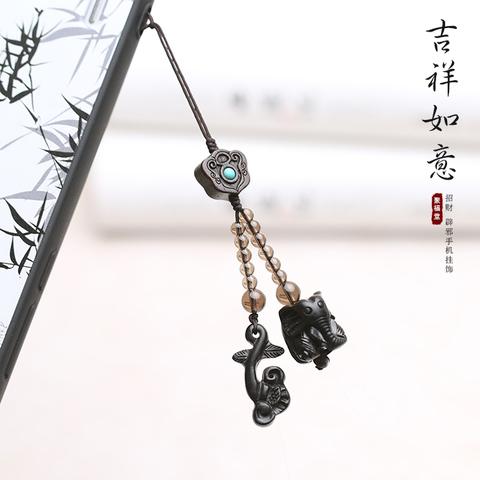 创意中国风手机链挂饰挂件葫芦 手机挂件吊坠男女古风吊坠饰品