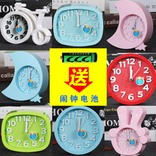 Simple and Creative Alarm Clocks Students Use Lovely Silent Bedside Children's Mini Personality Student's Small Alarm Clocks