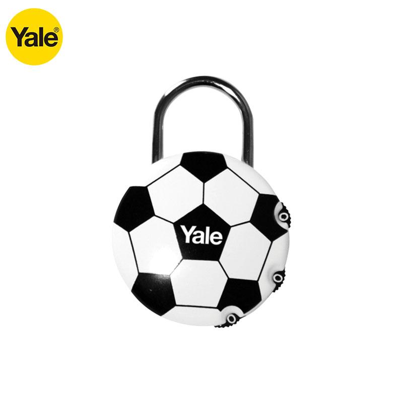 Yale American Luggage Backpack Luggage anti theft password lock football fans gift luggage padlock