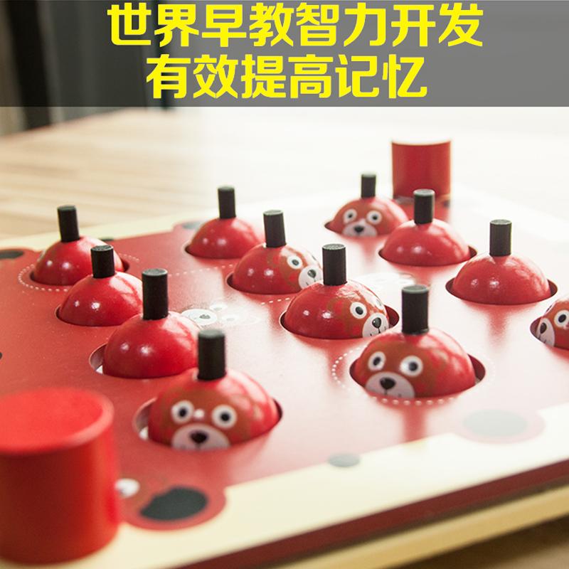 Детские Монтессори Раннее обучение Обучающие игрушки Упражнение Дети Концентрация Память Обучение Игрушки Настольные игры Родитель-ребенок взаимодействия