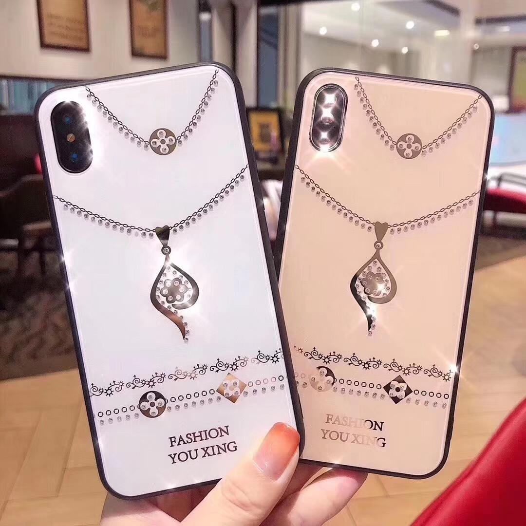 新款网红vivox27手机壳女x27pro水钻项链x23个性时尚x23幻彩版潮不包邮