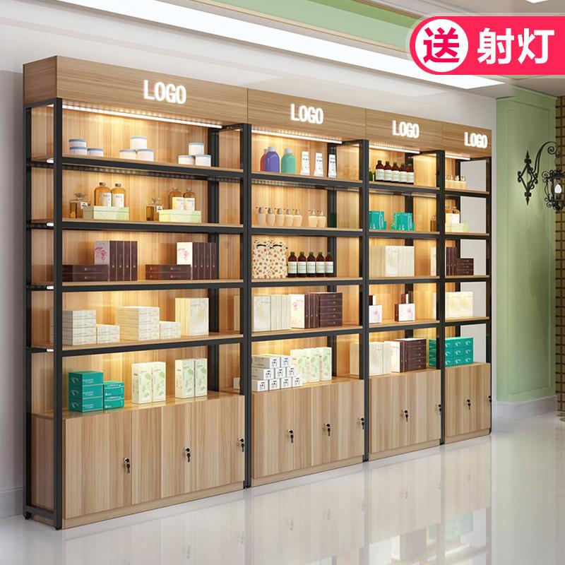 展示柜 货架展示架陈列柜自由组合宠物店母婴化妆品货架货柜展柜