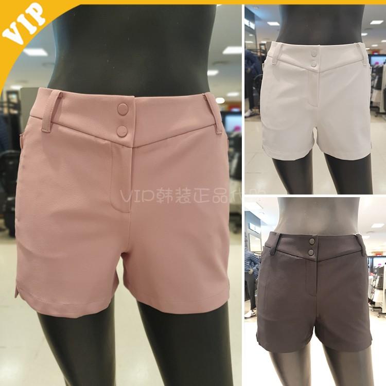 韩国代购MASTER BUNNY 高尔夫女装 21春时尚修身透气弹力运动短裤