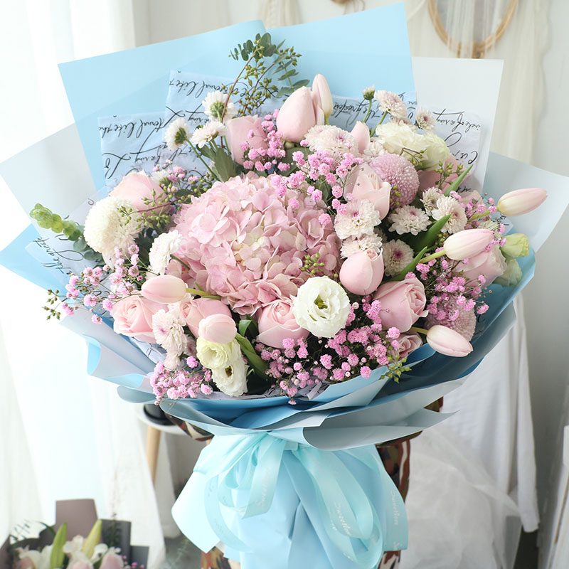 北京速递同城母亲节生日康乃馨