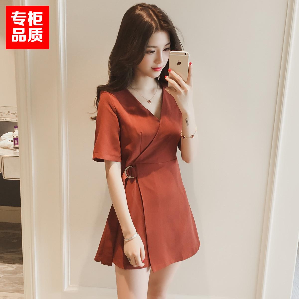 150cm矮个子夏季小码xs韩版连衣裙35.00元包邮