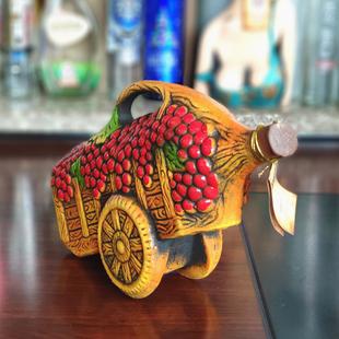 酒夜店酒柜酒吧格鲁吉亚彩陶瓷葡萄酒干红1500ml俄罗斯进口红酒