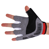 Li Ning professional sports gloves riding bike fitness Gloves men and women half finger sports hand outdoor extreme sports