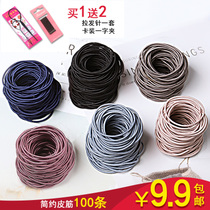 Hair Circle South Korea head Rope small Fresh sen Female department simple personality sinew Hair rope headwear with cute rubber band