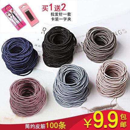 发圈韩国头绳小清新森女系简约个性皮筋发绳头饰扎头发可爱橡皮筋