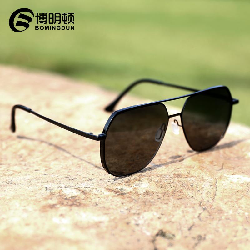 新款男士太阳镜墨镜偏光开车专用潮男防紫外线可配有度数近视眼镜