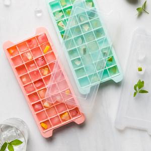 摩登主妇创意24格方形DIY冰棍雪糕模具冰棒制冰盒冰格制冰模具