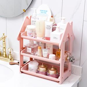多层厨房小房子置物架洗漱台厕所收纳架卫生间浴室卧室桌面整理架