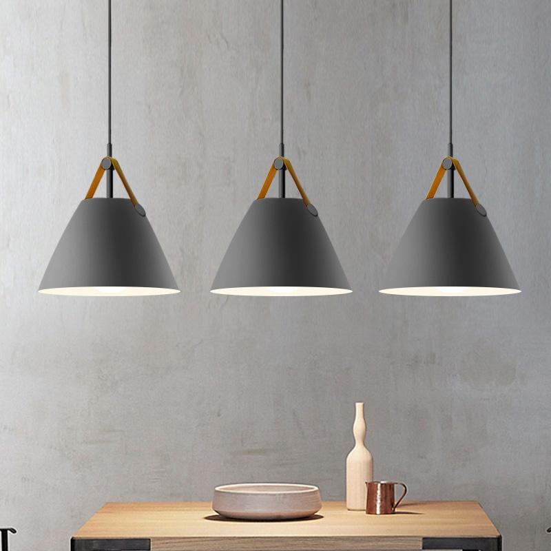 现代简约北欧餐厅卧室过道创意灯