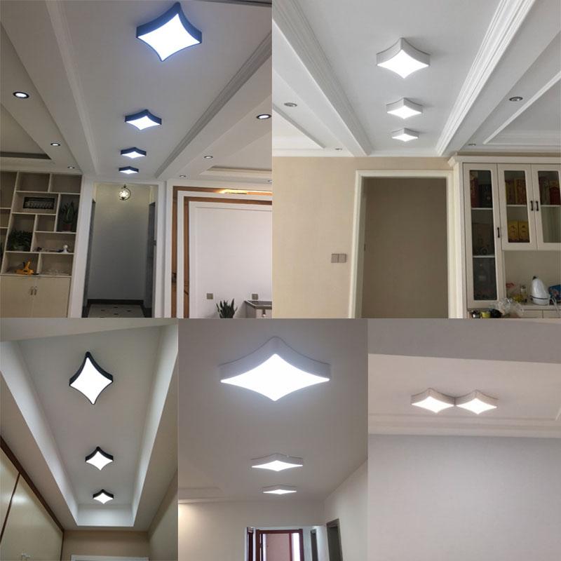 現代簡約led吸頂燈卧室客廳燈具超薄北歐創意個性藝術過道燈飾