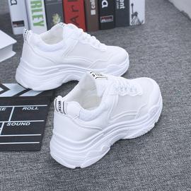 2020春季新款老爹运动鞋女增高跑步休闲小白鞋子单夏季百搭ins潮图片