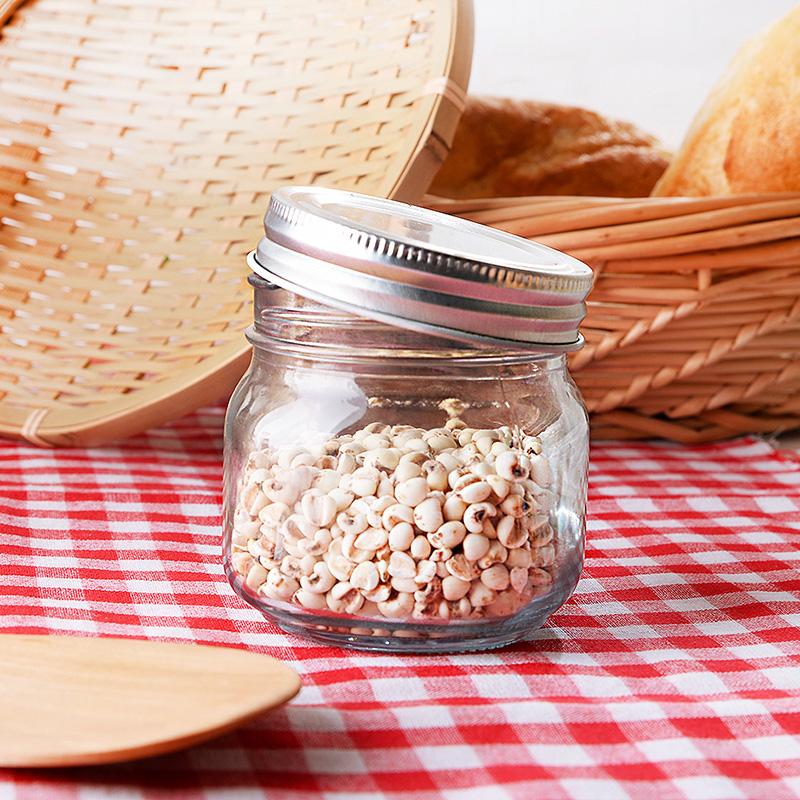 小玻璃瓶密封罐 酵素瓶蜂蜜瓶廚房泡菜罐子五穀雜糧儲物罐容器