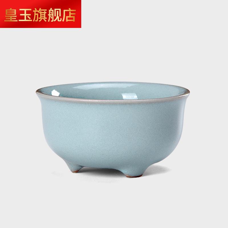 8MFT品牌  正品汝州原产地汝窑茶具可养开片工夫天青(盛世春秋