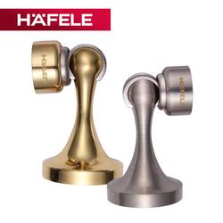 德国海福乐HAFELE铜卧室地吸卫生间地装墙装强磁门挡门阻门顶门吸