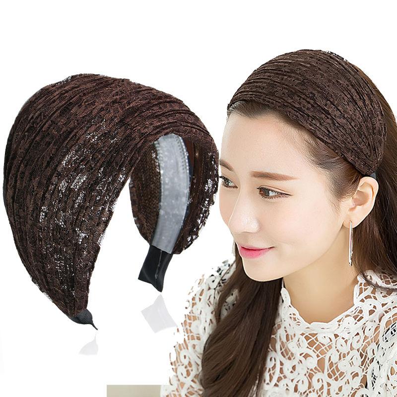 韩国遮白发的发箍女百搭外出防滑宽边压发卡超宽头箍网红发带头饰