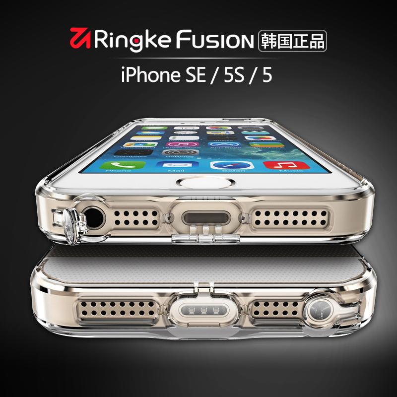 ^~拍下減^~韓國Ringke蘋果5s手機殼iPhone5s防摔套se簡約軟矽膠