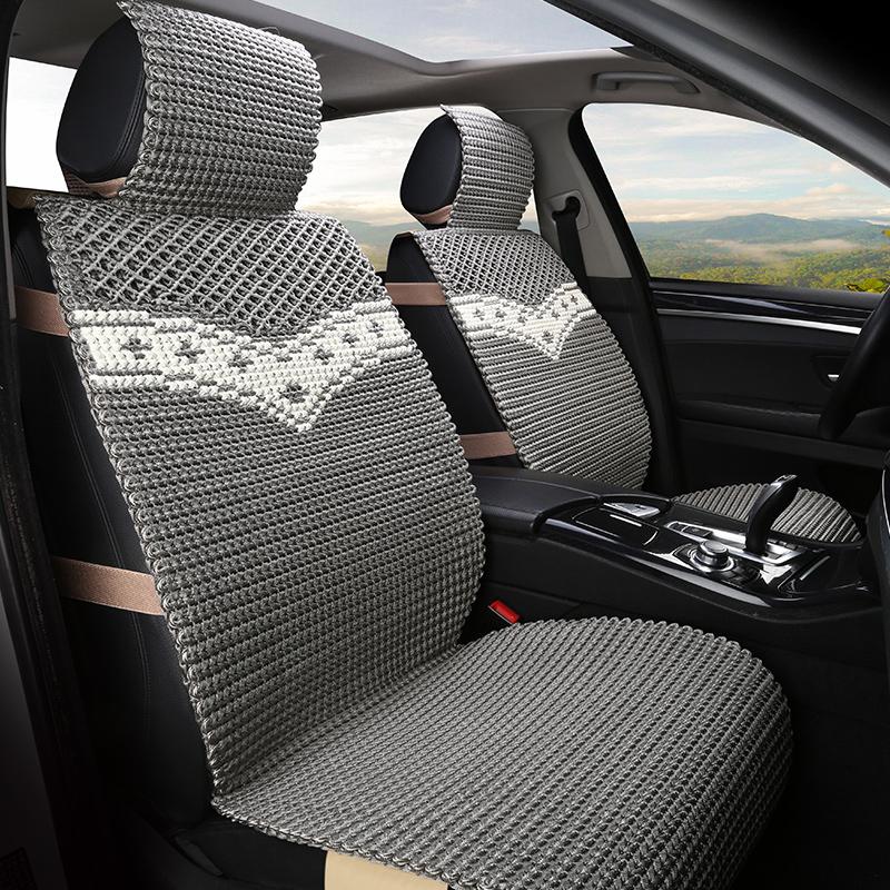 夏天汽车车坐垫透气冰丝座垫凉垫奔驰E级E200L E180L E300L E260L