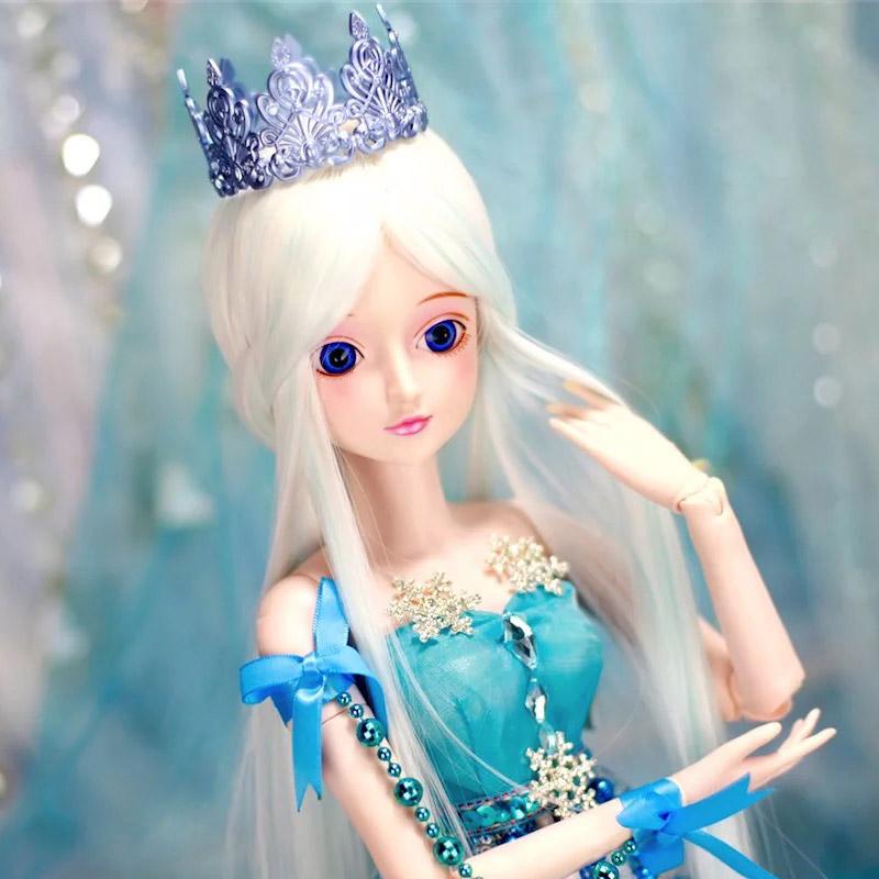 叶罗丽娃娃60cm关节可动冰女孩玩具买三送一