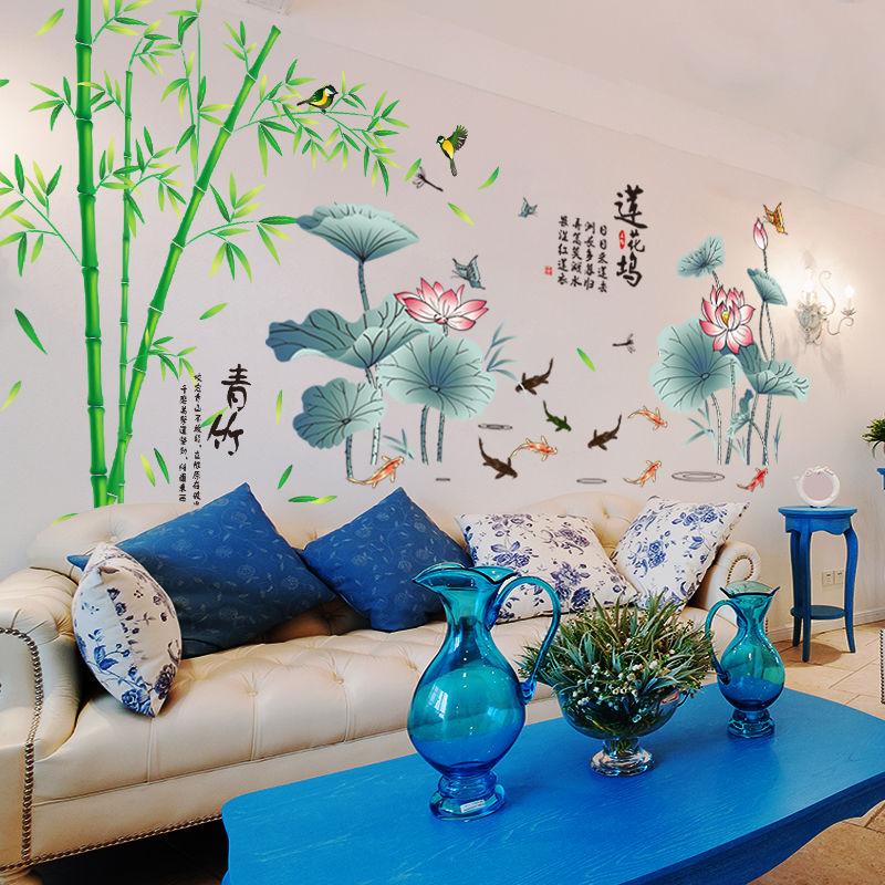 卧室温馨贴纸电视背景墙面墙贴画怎么样