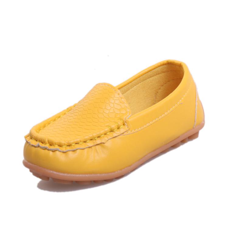 2016春秋 男童小皮鞋單鞋兒童鞋女童豆豆鞋 鞋寶寶鞋子